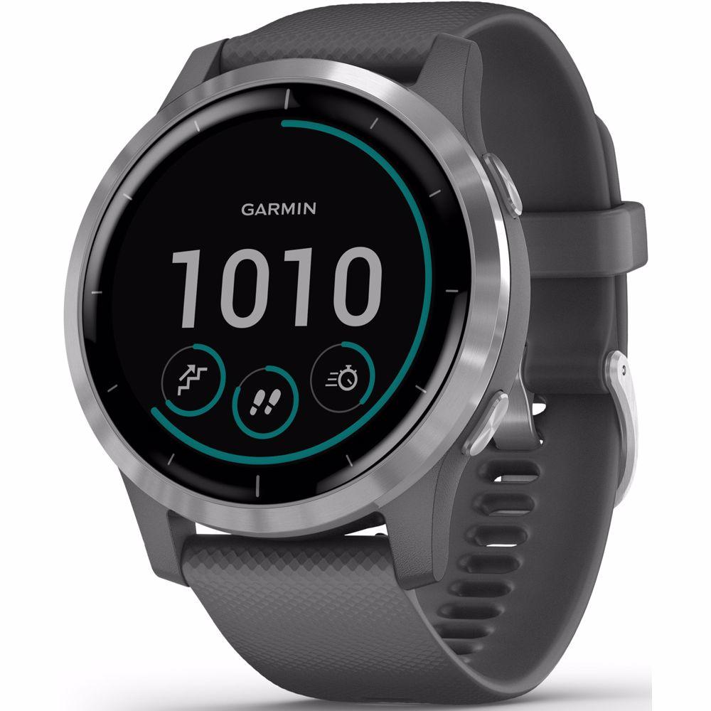 Garmin smartwatch Vivoactive 4 (Grijs)