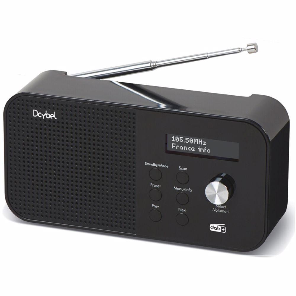 Dcybel DAB radio R300 (Zwart)