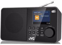 JVC DAB radio F39W-DAB (Zwart)