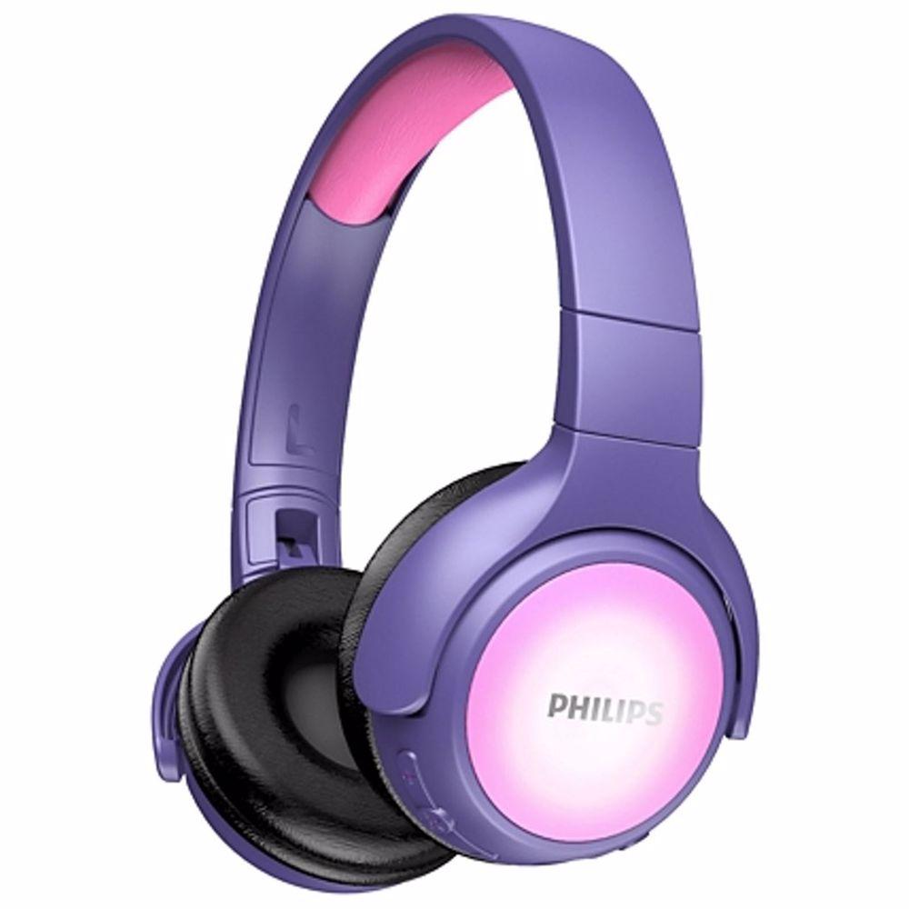 Philips draadloze hoofdtelefoon TAKH402 (Paars)