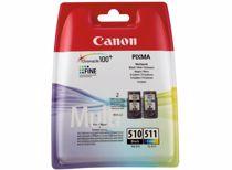 Canon cartridge PG-510 en CL-511 Multipack