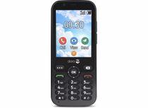 Doro senioren mobiele telefoon 7010 (Grijs)