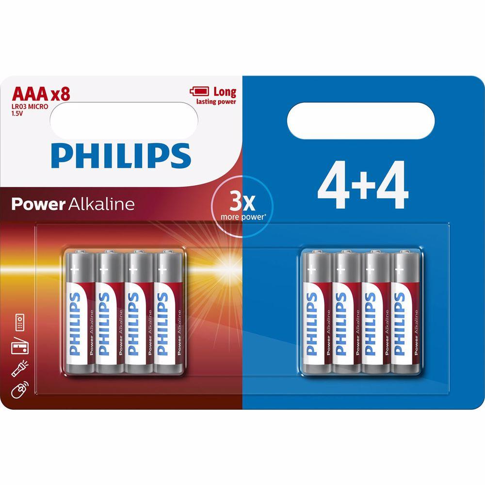 Philips batterij LR03P8BP/10