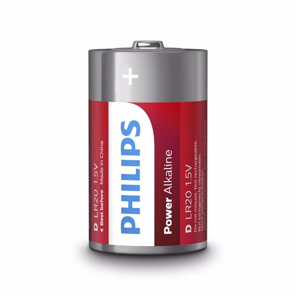 Philips batterij LR20P2B/10