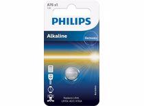 Philips knoopcel batterij A76/01B