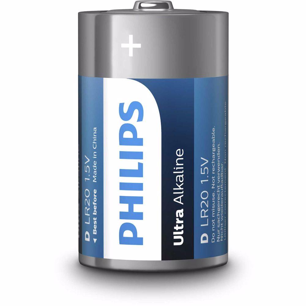 Philips batterij LR20E2B/10