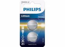 Philips batterij CR2032P2 (2 stuks)