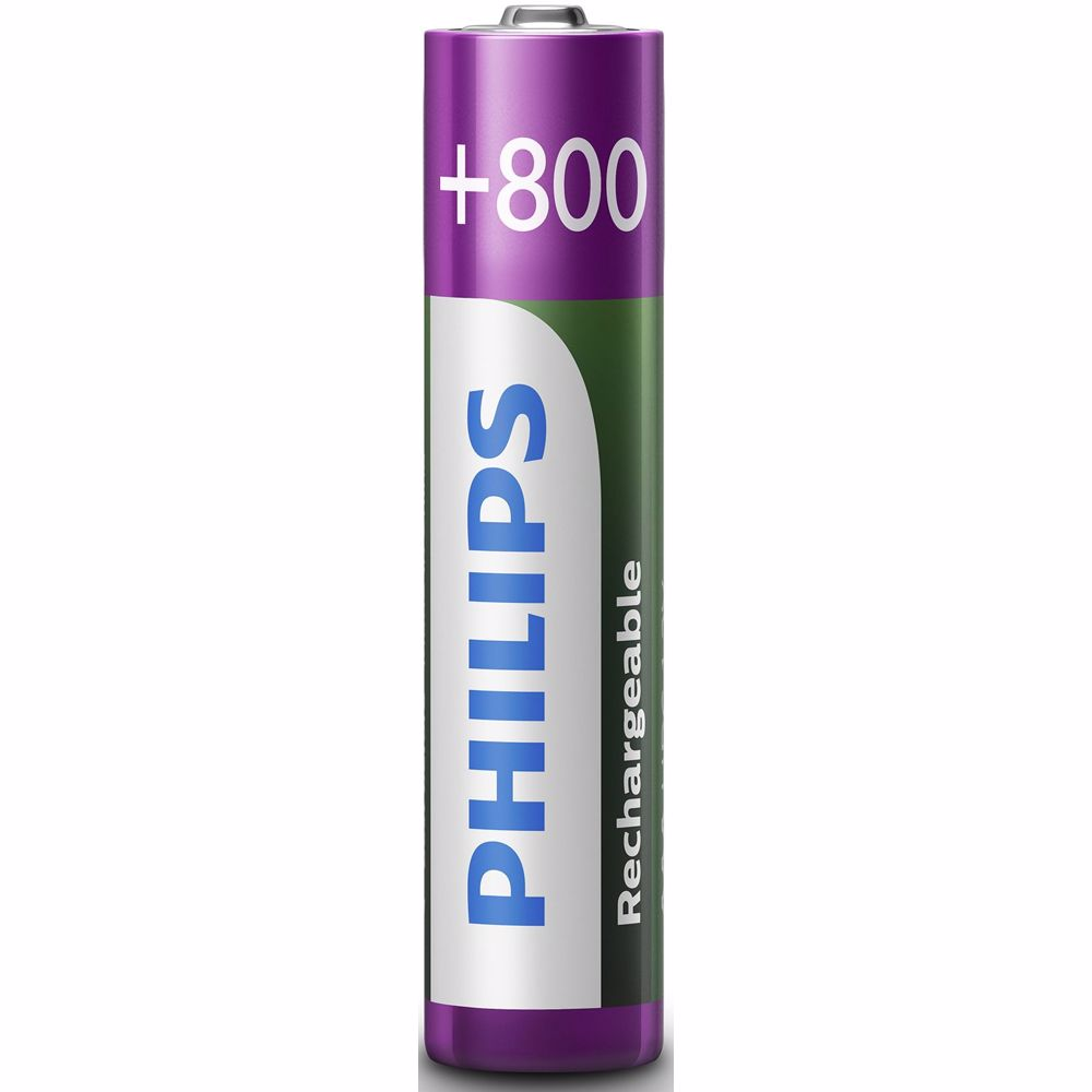 Philips oplaadbare AAA batterijen (2 stuks)