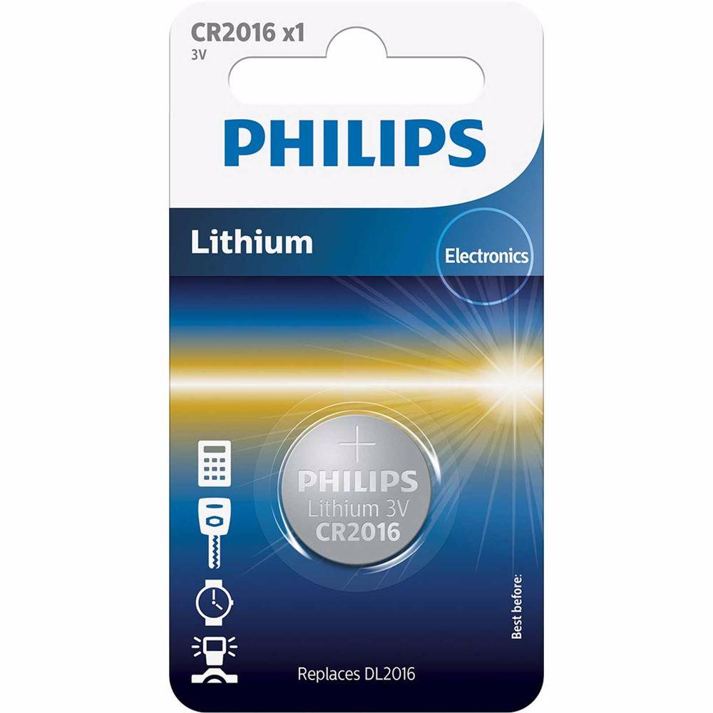 Philips batterij 3V CR2016 (1 stuks)