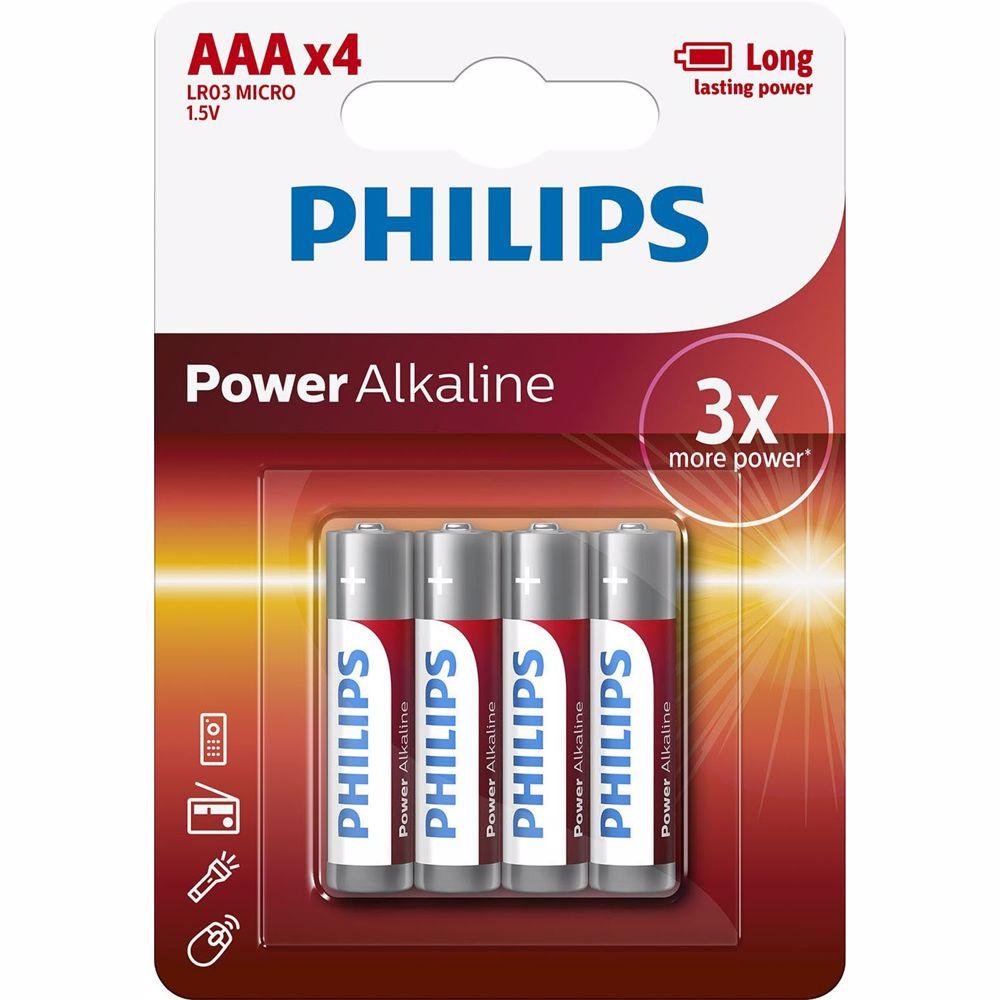 Philips batterij LR03P4B/10