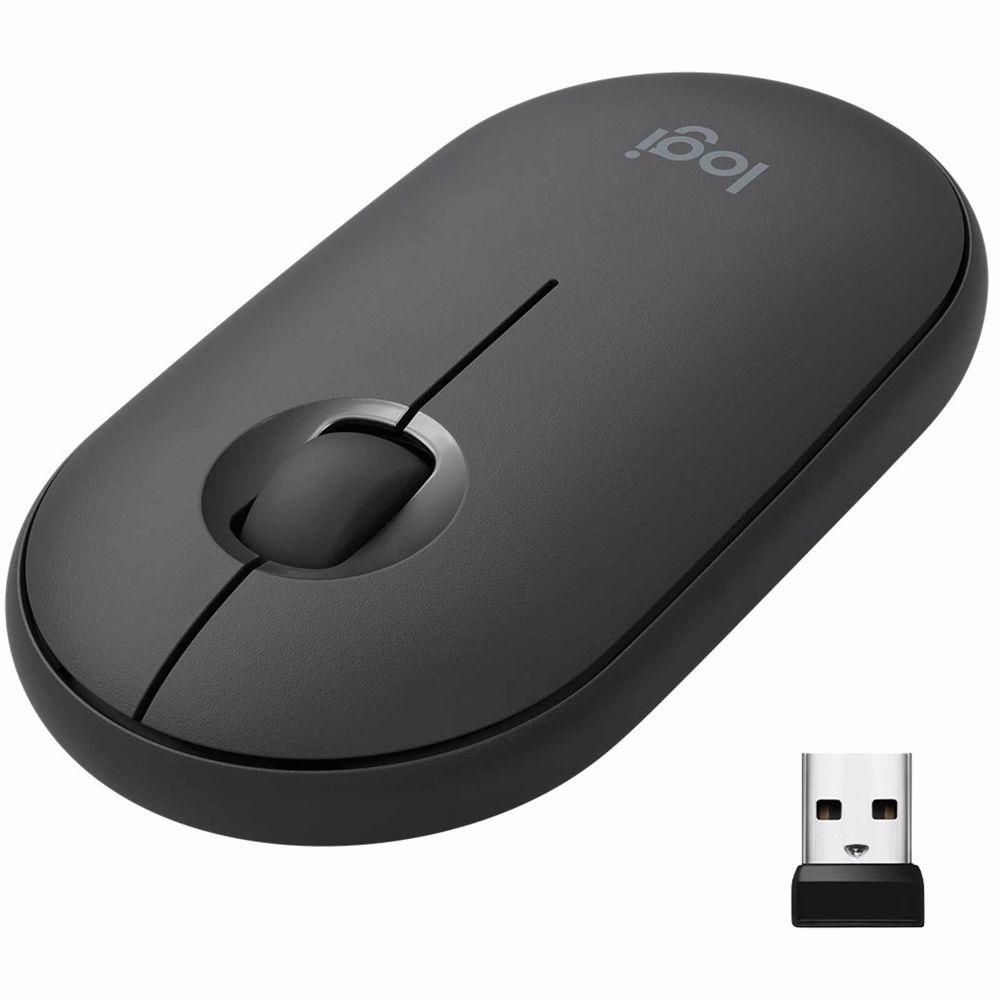 Logitech muis Pebble M350 (Zwart)