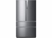Haier Amerikaanse koelkast HB26FSSAAA (Zilver)