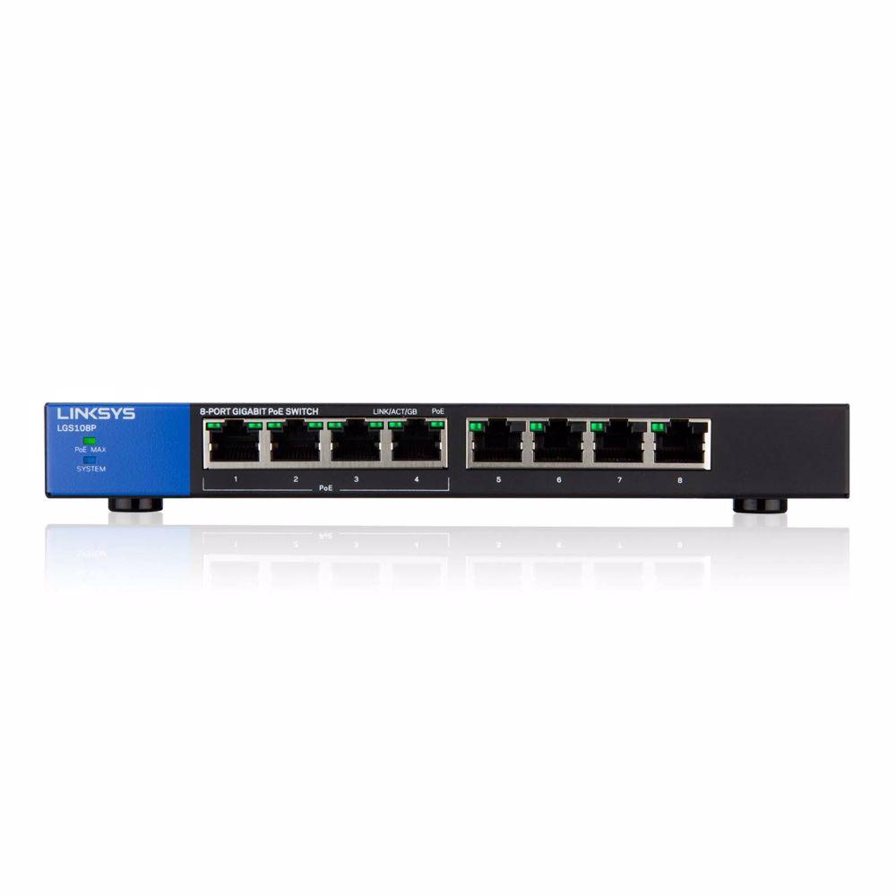 Linksys netwerk switch LGS108P-EU