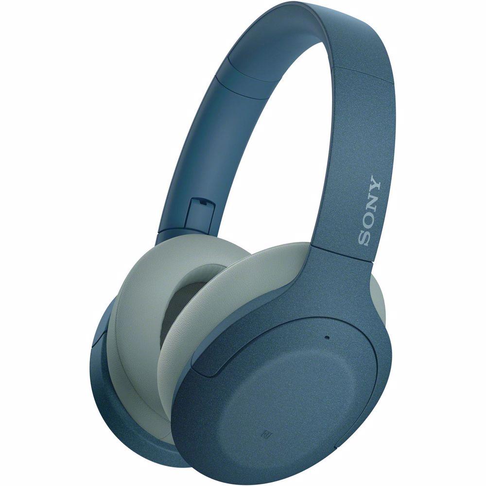 Sony draadloze hoofdtelefoon WH-H910N Noise cancelling (Blauw)