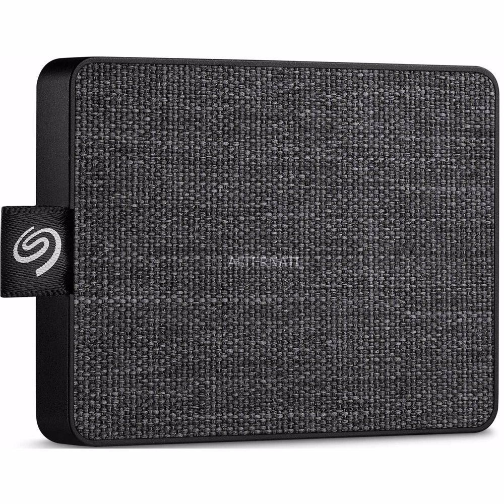 Seagate externe SSD One Touch 500GB (Zwart)
