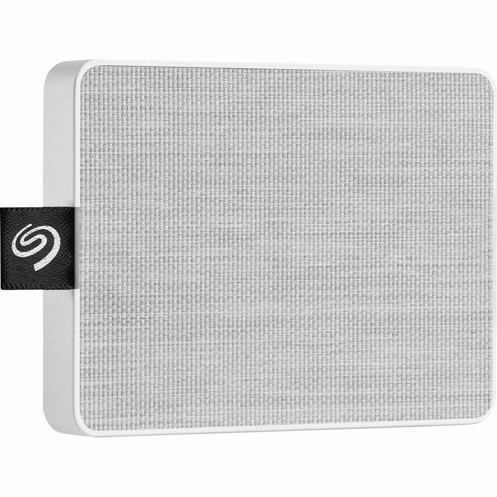 Seagate externe SSD One Touch 500GB (Wit)