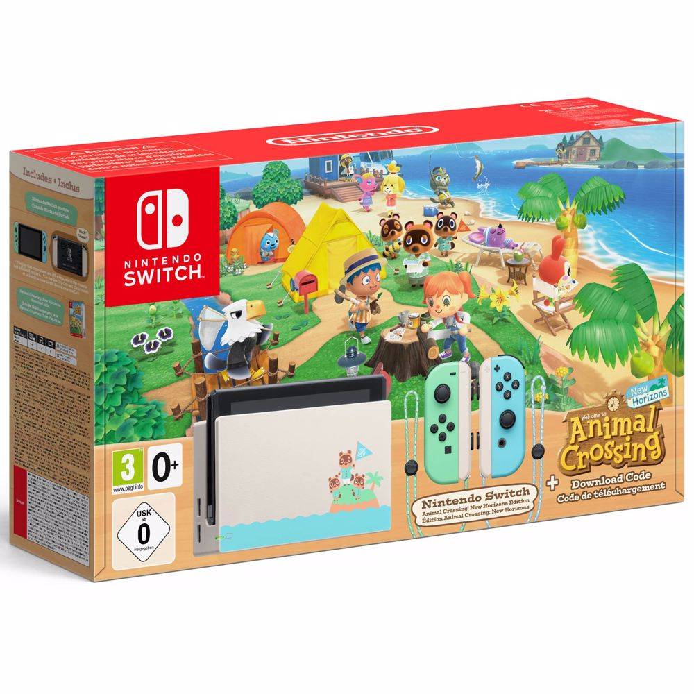 Nintendo Switch Animal Crossing: New Horizons limited editie