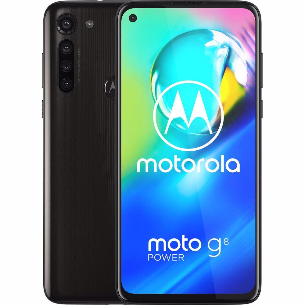 Motorola smartphone Moto G8 Power (Zwart)