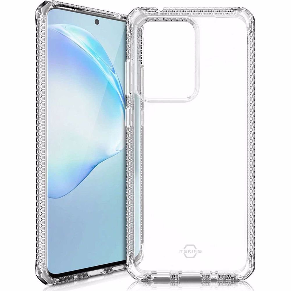 Itskins telefoonhoesje Samsung Galaxy S20+ Level 2 (Transparant)