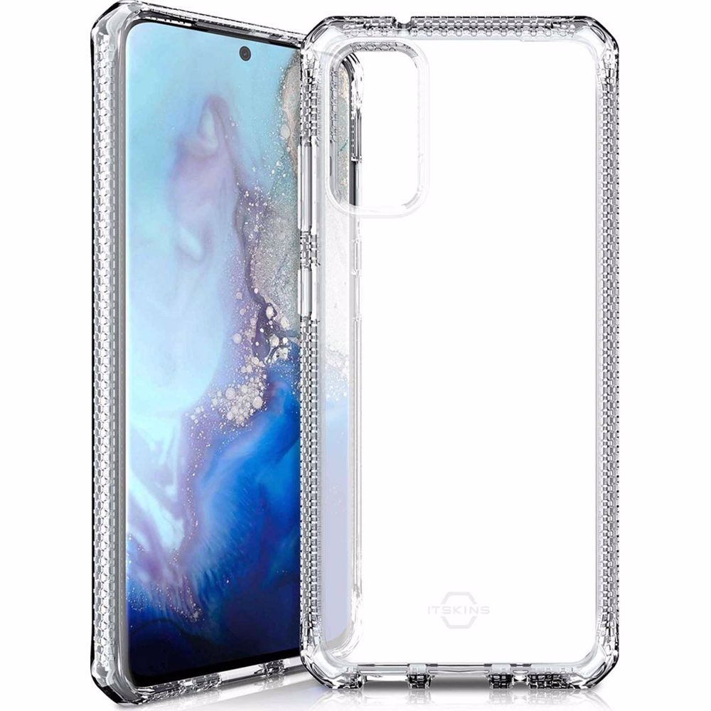 Itskins telefoonhoesje Samsung Galaxy S20Ultra LV2 (Transparant)