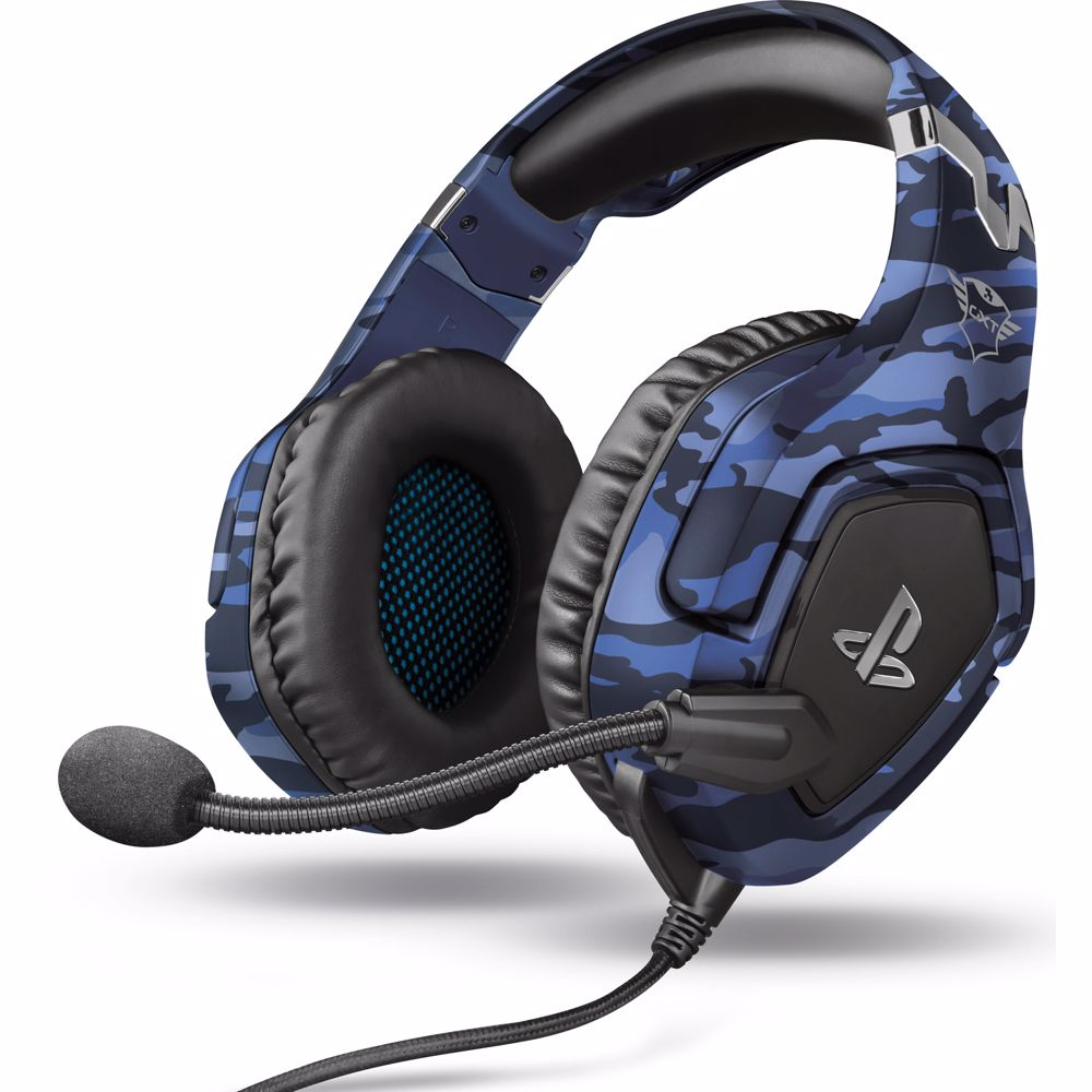 Trust gaming headset GXT 488 FORZE PS4 - BLAUW