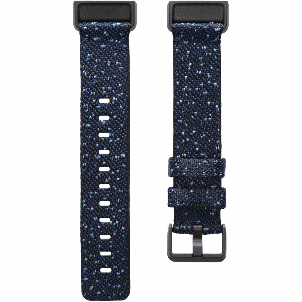 Fitbit Charge 4 gewoven bandje Small (Donkerblauw)