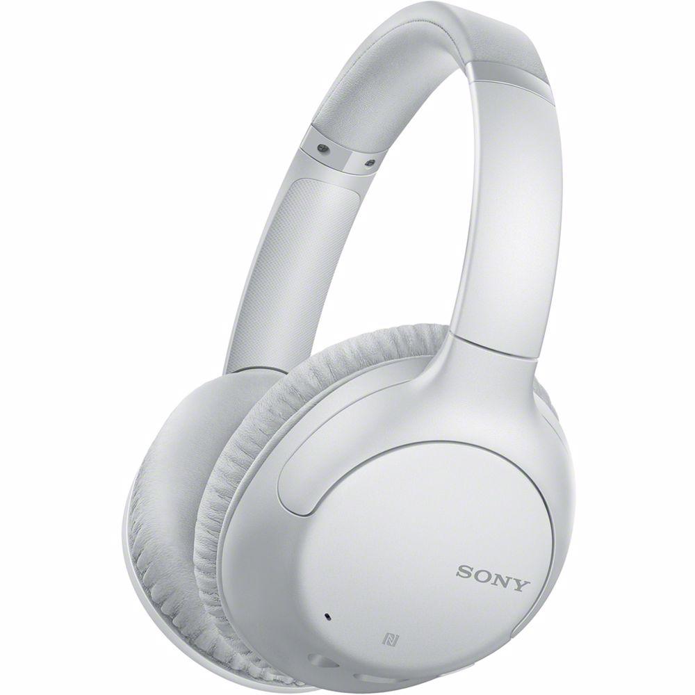 Sony draadloze hoofdtelefoon WHCH710N Noise Cancelling (Wit)