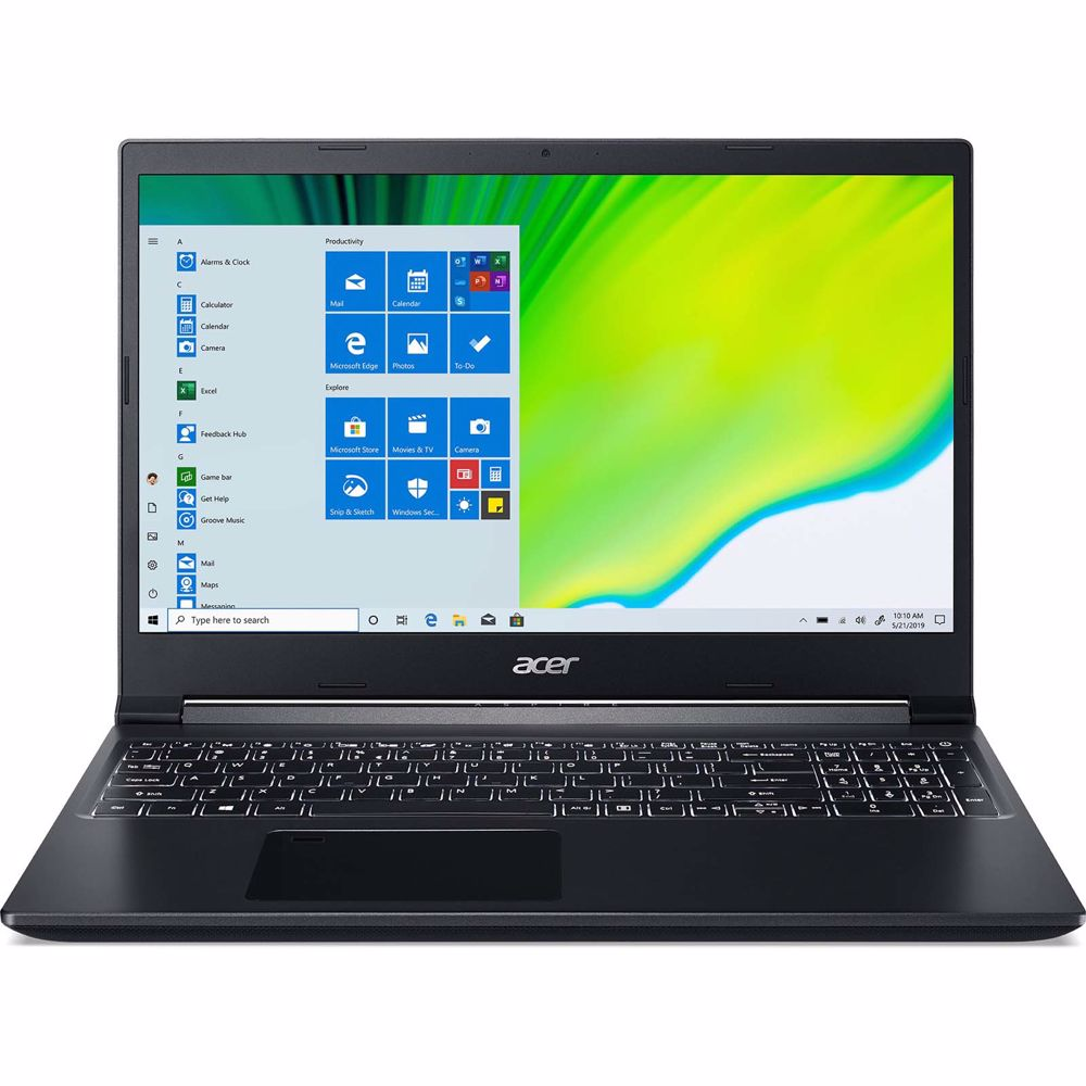 Acer laptop ASPIRE 7 A715-75G-74H3