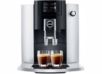 Jura espresso apparaat E6 EB (Platina)