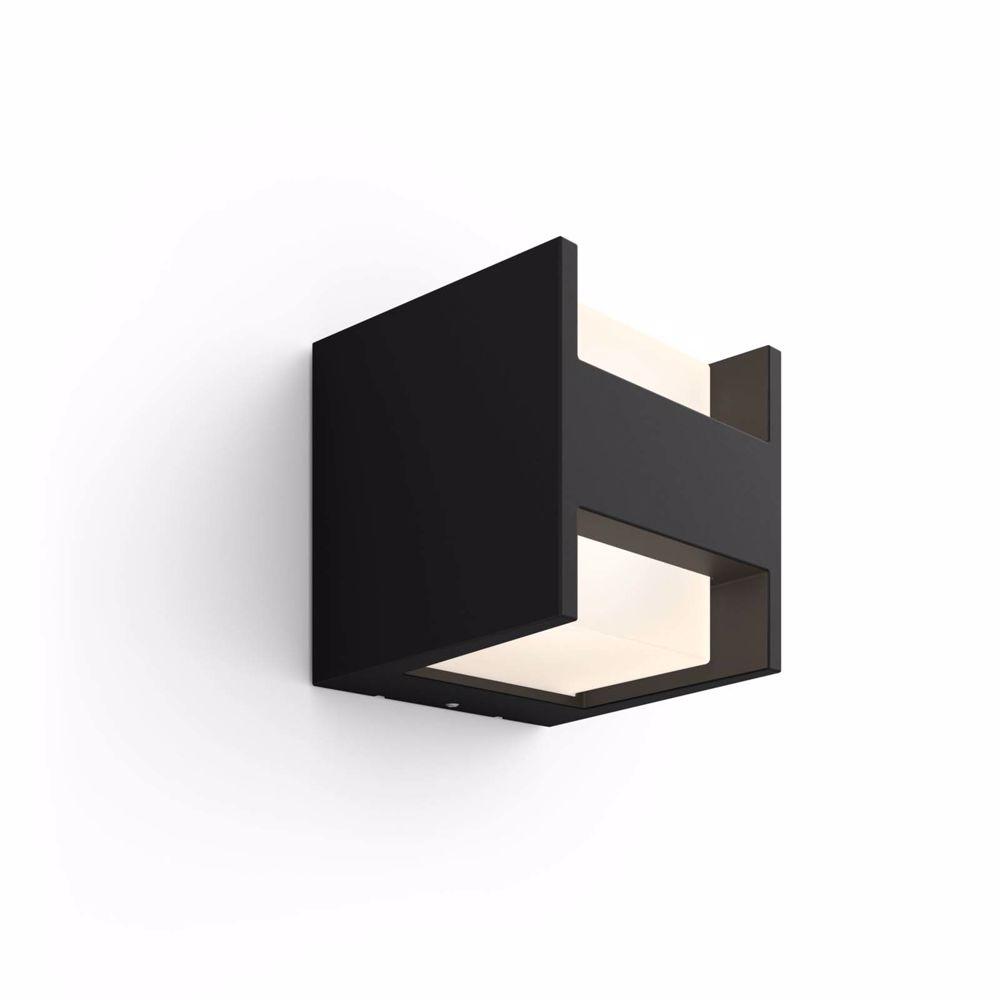 Philips Hue FUZO MUURLAMP - WARMWIT LICHT (Zwart)