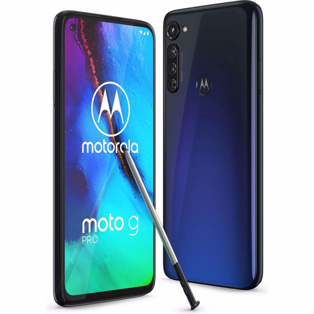 Motorola smartphone Moto G Pro 128GB (Blauw)