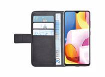 Azuri telefoonhoesje A71 Wallet Case (Zwart)