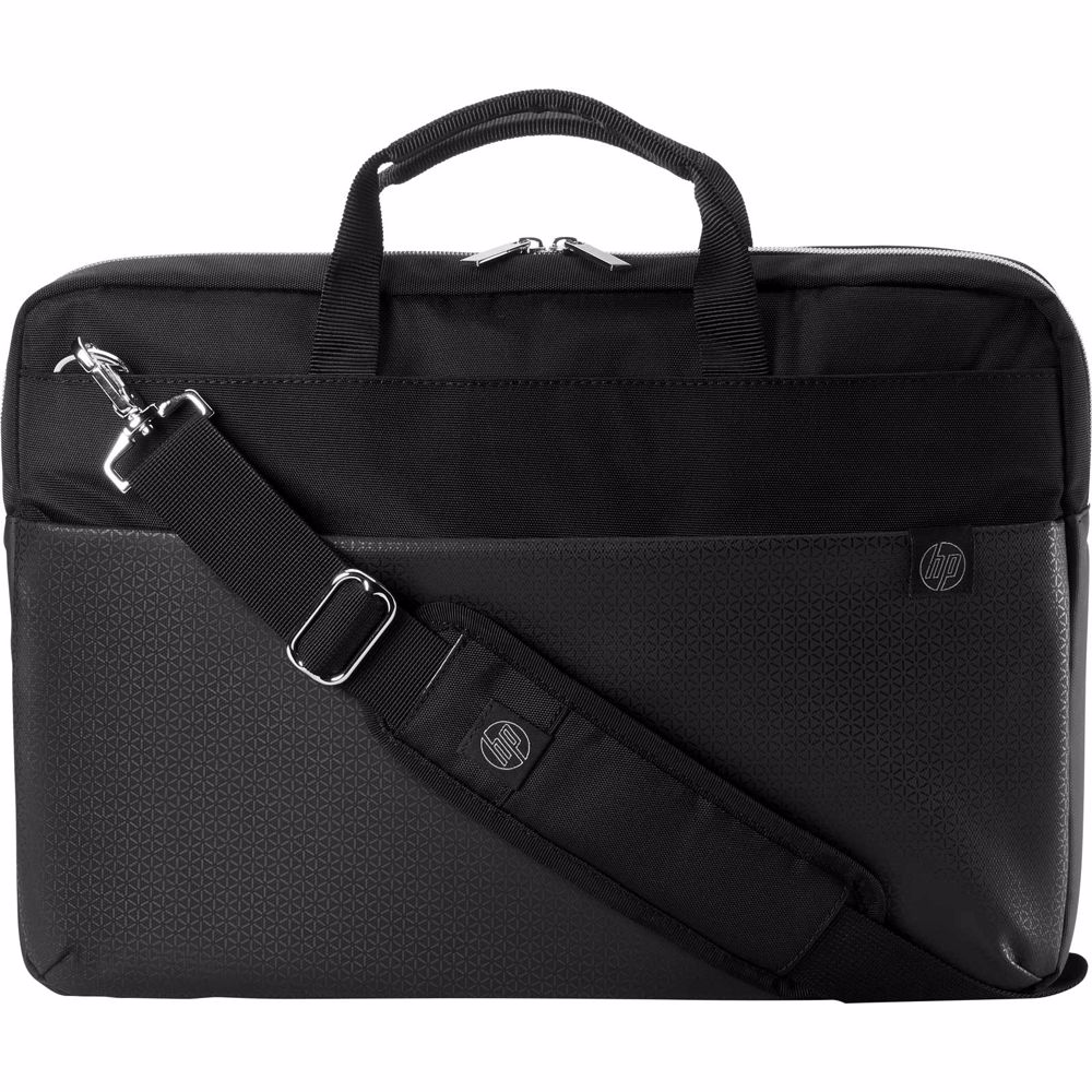 HP laptoptas Pavilion Duotone aktetas 15.6 inch (Zwart/Zilver)