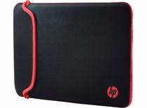 HP omkeerbare laptop sleeve 14 inch (Zwart/Rood)