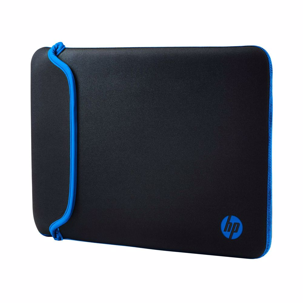 HP laptop sleeve 14.0 CHROMA REVERSIBLE SLEEVE (Zwart/Blauw)