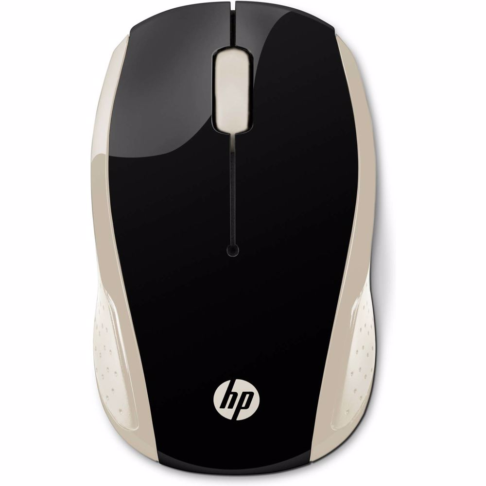 HP draadloze muis 200 (Goud)