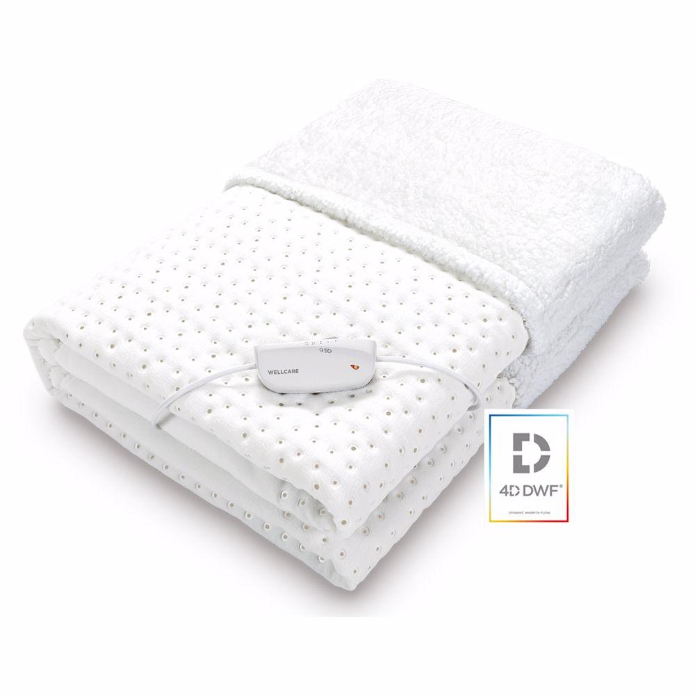 Wellcare elektrische deken 2-IN-1 onder- en bovendeken
