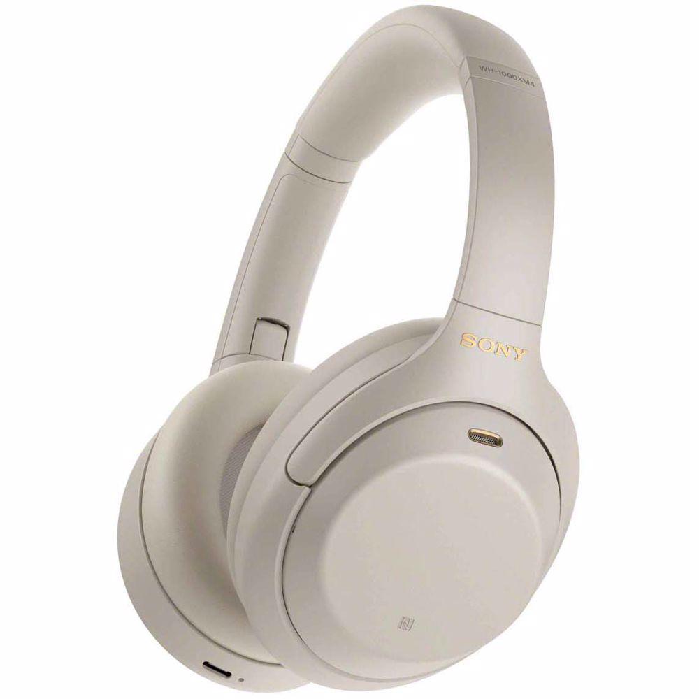 Sony draadloze hoofdtelefoon WH1000XM4S  (Zilver)