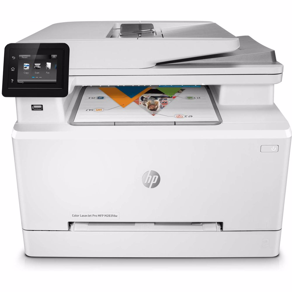 HP all-in-one printer COLOR LASERJET PRO MFP M283FDW