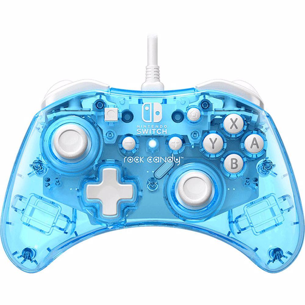 PDP Rock Candy bedrade controller Nintendo Switch (Blauw)