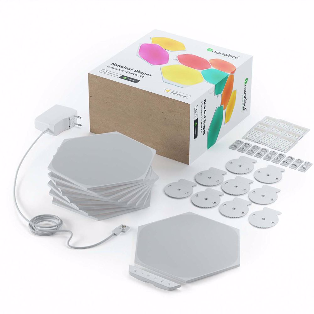 Nanoleaf Shapes Hexagon Starter Kit (9 stuks)