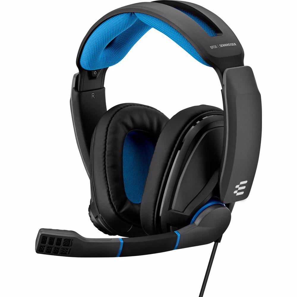 EPOS   Sennheiser gaming headset GSP 300 (Zwart/Blauw)