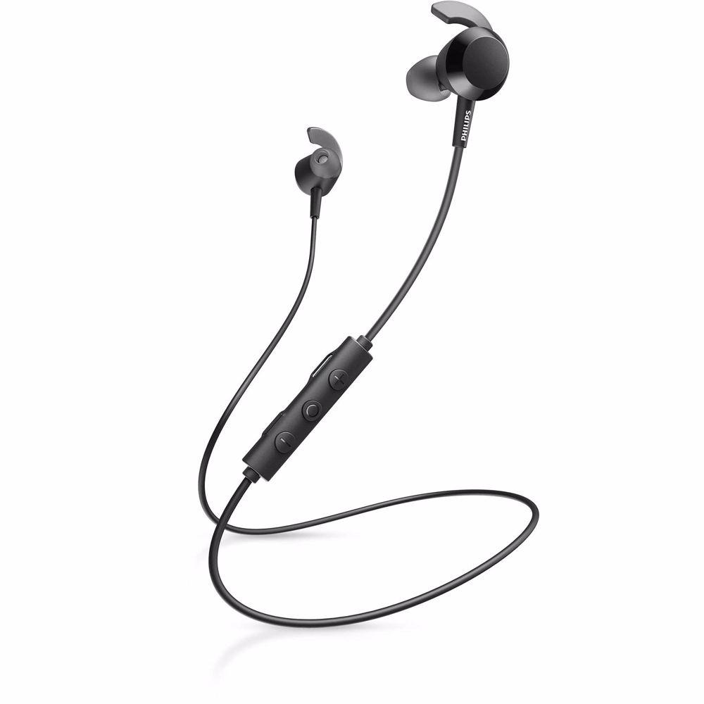 Philips draadloze hoofdtelefoon TAE4205 (Zwart)