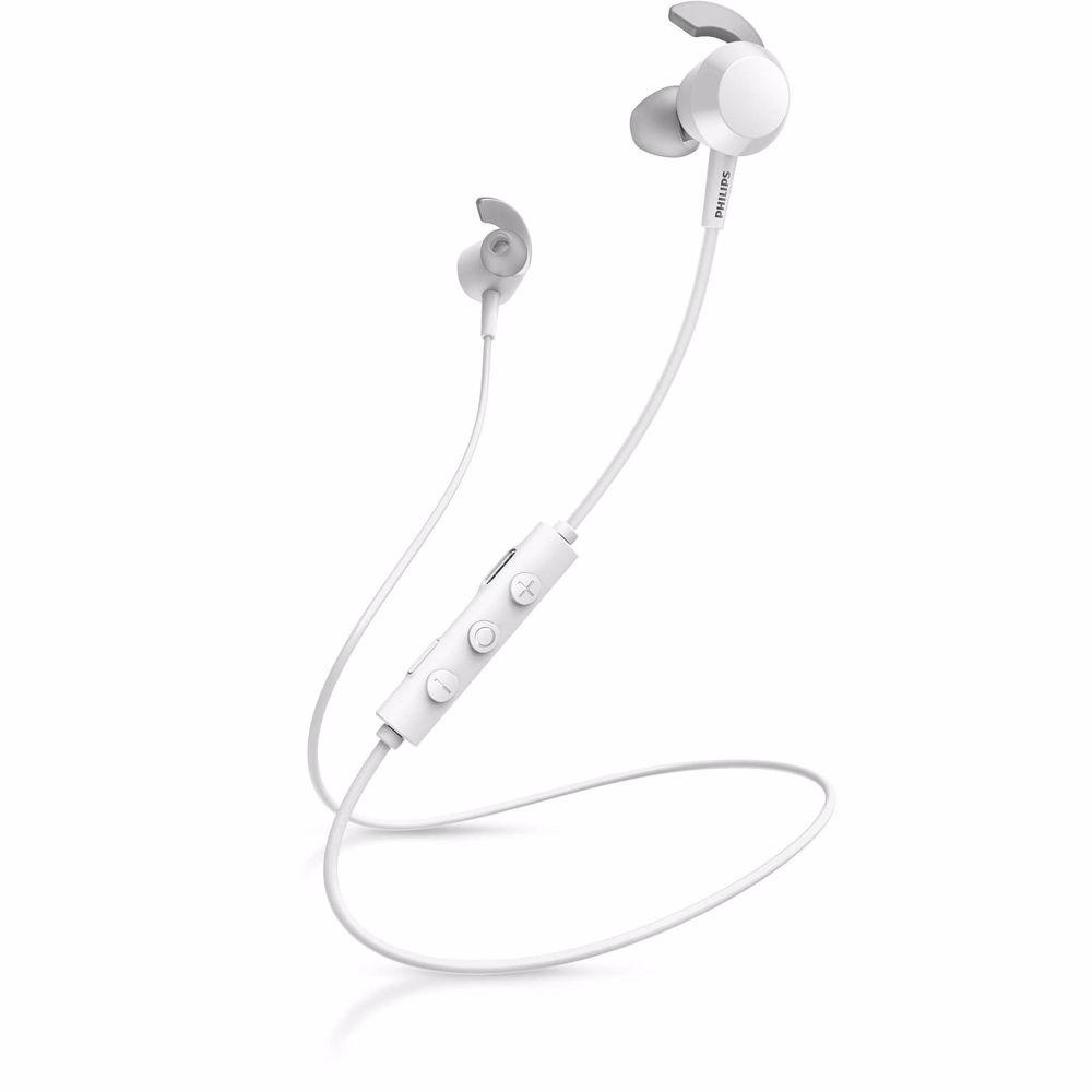 Philips draadloze hoofdtelefoon TAE4205 (Wit)