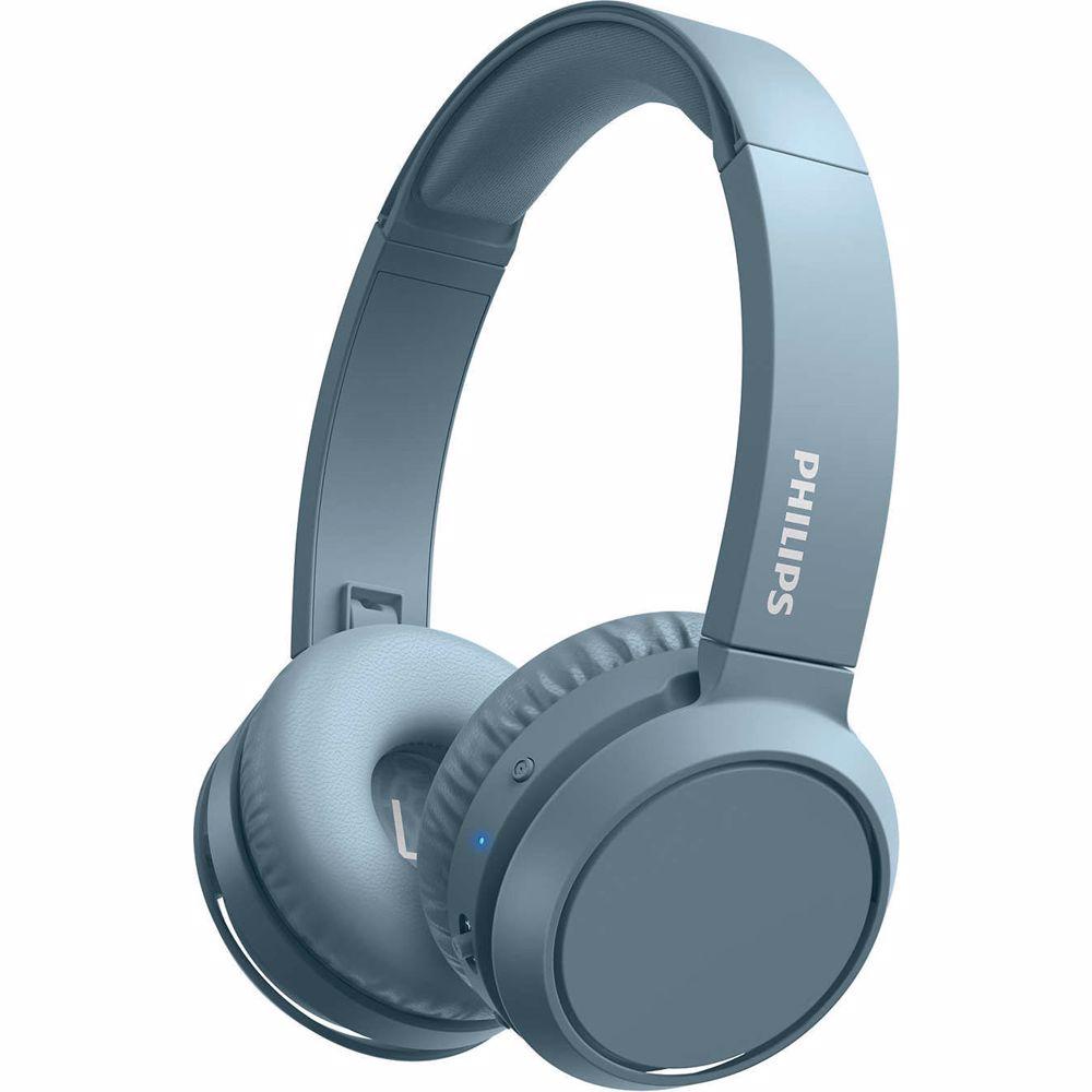 Philips draadloze hoofdtelefoon TAH4205 (Blauw)