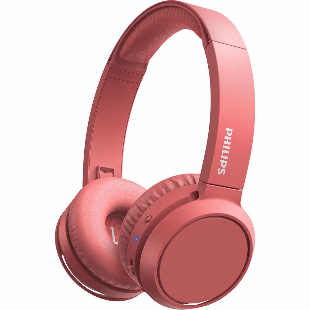 Philips draadloze hoofdtelefoon TAH4205 (Rood)