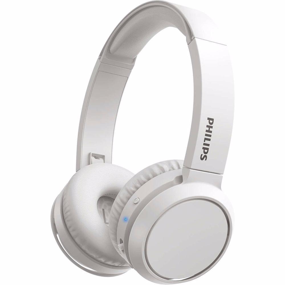 Philips draadloze hoofdtelefoon TAH4205 (Wit)