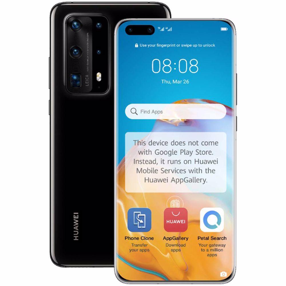 Huawei smartphone P40 Pro+ (Zwart)