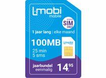 L-mobi prepaidkaart jaarbundel startpakket