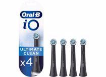 Oral-B opzetborstels iO Ultimate Clean Zwart (4 stuks)